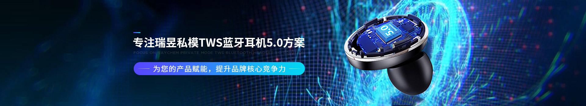新世技术-专注瑞昱私模TWS蓝牙耳机5.0方案