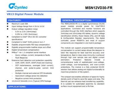 电源模块MSN12vdd30-FR乾坤代理——新世技术
