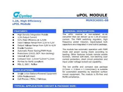电源模块MUN3CAD01-SB乾坤代理——新世技术